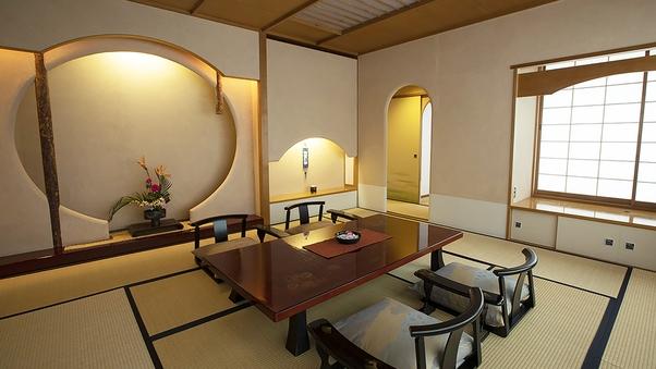 [禁煙]特別和洋室 客室フロア最上階