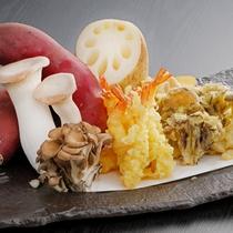 天ぷら(海老・舞茸・さつま芋・蓮根・エリンギ)