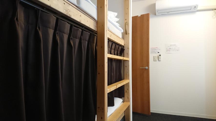 自慢のドミトリールームのベッド③