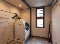 ランドリールーム 全自動洗濯乾燥機完備
