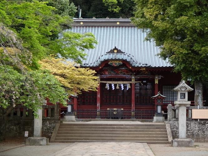縁結びの神様、伊豆山神社