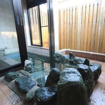 ◆客室半露天風呂◆