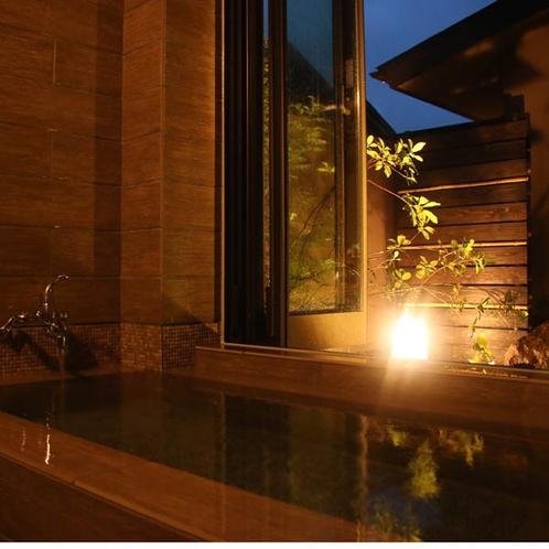 特別室【にしきぎ】お庭が眺められる内風呂