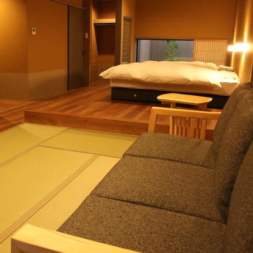和洋室【はなみずき】お庭が眺められる内風呂付