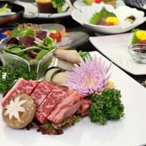 熊本ブランド牛ステーキ。ジューシーな深い味わいをお愉しみください。