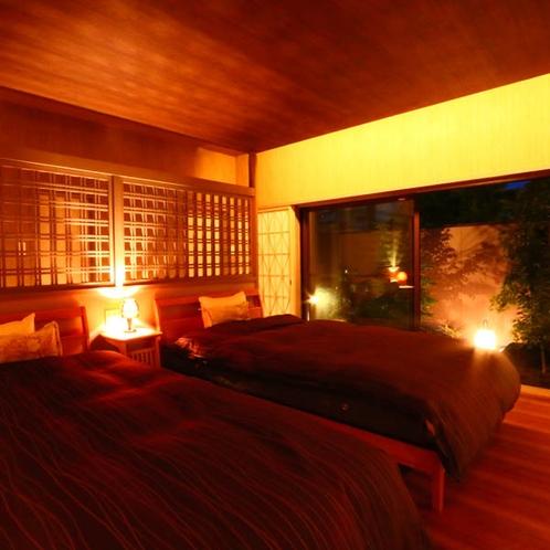 特別室【にしきぎ】ハイグレード離れ屋風和洋室