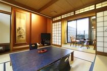 露天風呂付き客室(峰山)