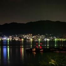 琵琶湖の夜景