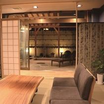 貸切風呂『湖月草』休憩室