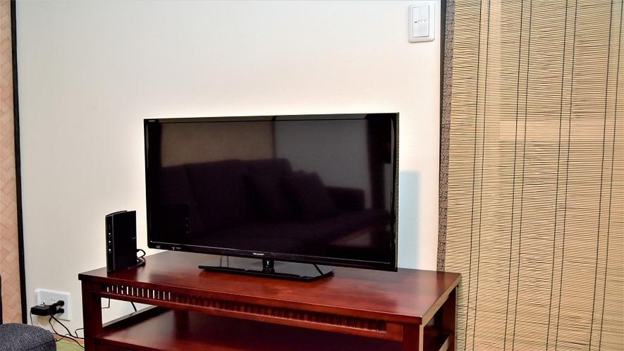 和室のテレビ