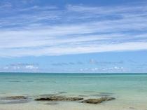 【いちゃんだビーチ】沖縄の穴場ビーチ!施設から徒歩6分です。