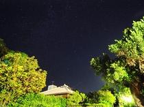【外観】宿からは満点の星空を眺めることができます☆彡