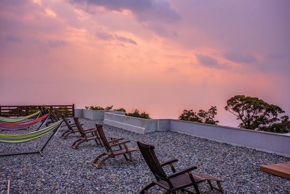 「おひとりさま歓迎」感動の夕陽を目の前で【全室露天風呂】富士山と駿河湾を望むプレミアムステイ1泊2食
