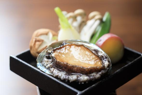 ★あわびステーキお1人様1個付★【全室露天風呂】富士山と駿河湾を望む1泊2食プラン!