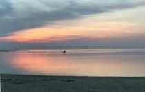 アラハビーチからの夕焼け