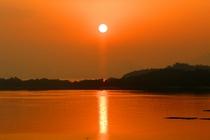 宮島の日の出(聖崎)
