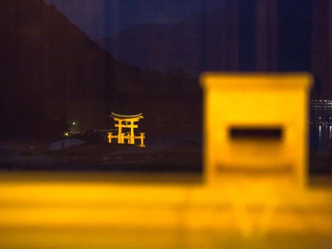 【展望風呂(夜)】