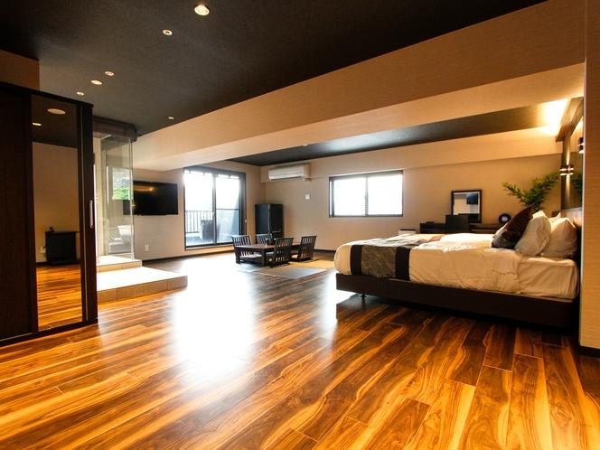 【◆スイート◆(露天風呂付客室)71平米】「和モダン」をテーマに統一された和洋室