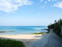 近隣の海水浴場