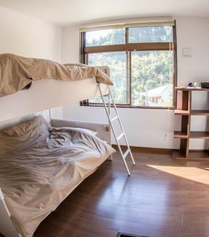 料金を抑えたい方におススメ2段ベッド貸し切り洋室