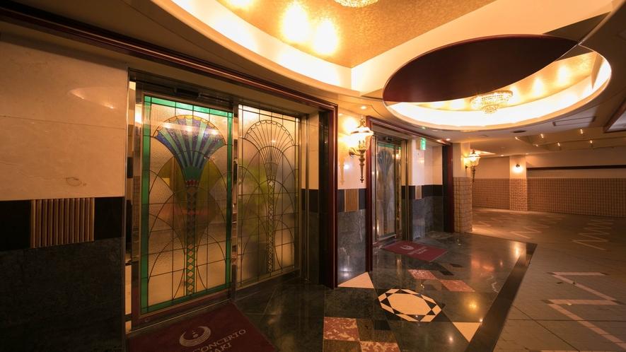入口/エントランス◇エレベーターをご利用の上2階フロントへお越しください