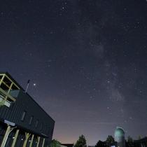 ホテルと天文台と天の川
