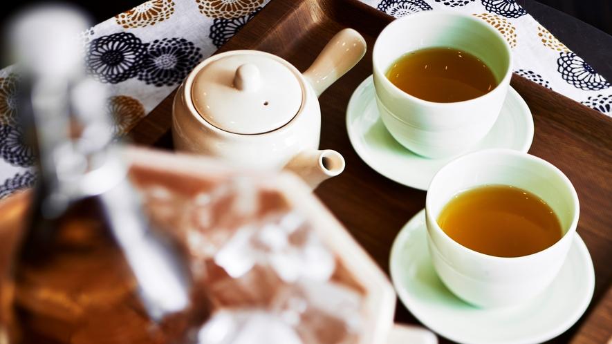 【館内設備】ほっこりお茶コーナー