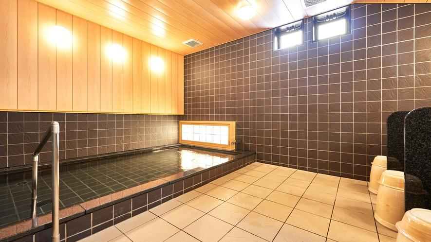 【大浴場】男女別大浴場を完備