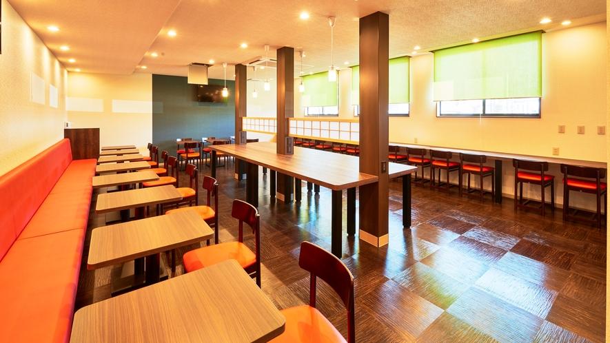 【朝食会場】1号棟1階 フロント隣