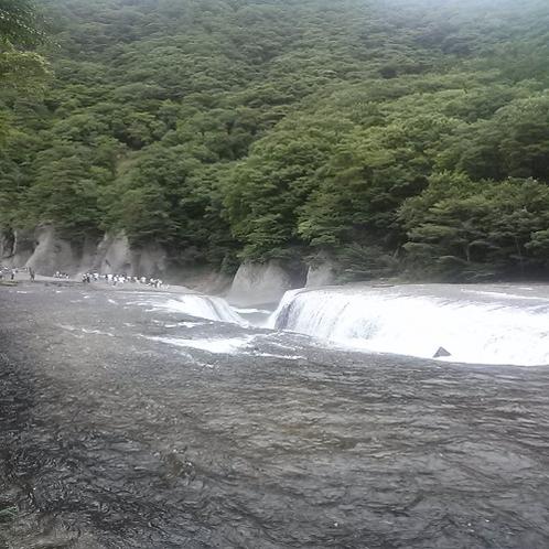 吹割の滝(関東のナイアガラ)