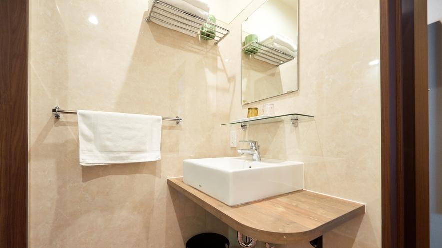 【ツインルーム】洗面所