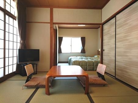 和室6畳+ベッドルーム【禁煙】