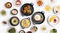 ■一例(イメージ)【1Fレストラン朝食◆6:30~9:30(LO9:00)87席】
