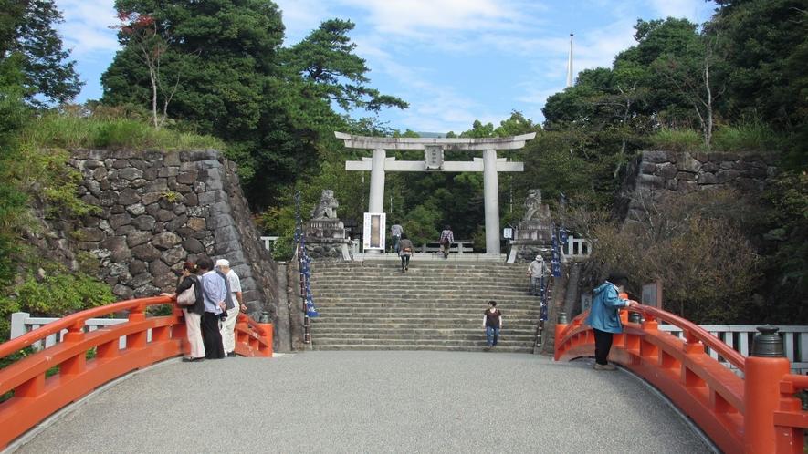 ■武田神社入口