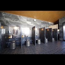■男性大浴場洗い場(9階)