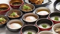 ■味めぐり小鉢横丁【1Fレストラン朝食◆6:30~9:30(LO9:00)87席】