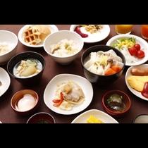 ■バイキング朝食メニュー