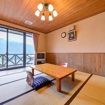 *【和洋室一例】2段ベッドと和室を兼ね備えたお部屋。Wi-Fiもご利用いただけます。