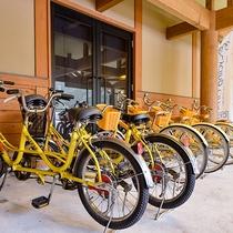 *【レンタサイクル】お子様用の自転車もございます。(有料)