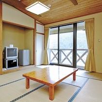 *【和室一例】10畳タイプの和室です。Wi-Fiもご利用いただけます。
