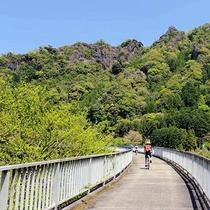 【耶馬メイプルサイクリングロード】大自然の中を自転車でかけぬけよう♪
