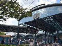 最寄りのJR横川駅から徒歩3分です。