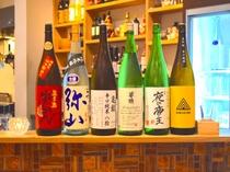 広島の地酒をお楽しみいただけます。