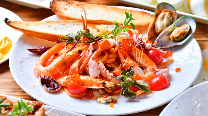 【楽天SP】1日1組プールで二人だけのひと時を■沖縄県内で1番イタリア食材を集めた地中海朝食