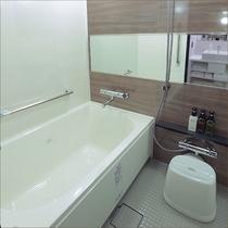 独立型バスルーム完備