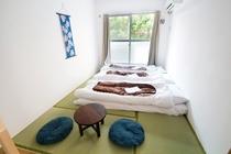 6畳和室3名利用