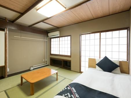 【禁煙】和室シングルベッドタイプ4人部屋