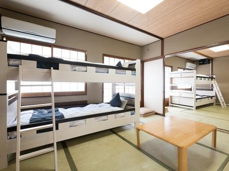 【禁煙】和室2段ベッドタイプ8人まで50インチTV♪