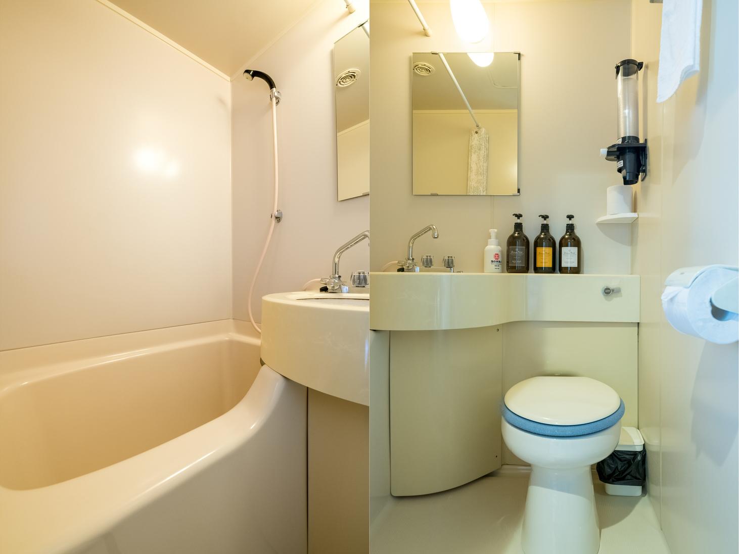 和室1〜4名様 バス・トイレ