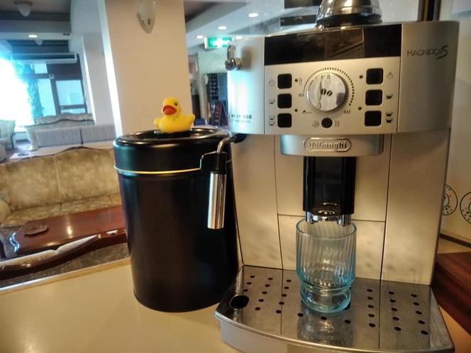 デロンギのコーヒーメーカーで淹れるコーヒーは香りも愛も最高です♪